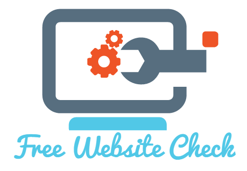 Free Website Check Logo